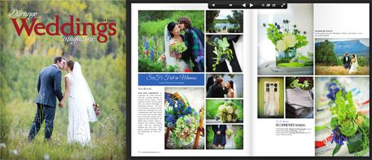 Durango Weddings Magazine - 2014 issue