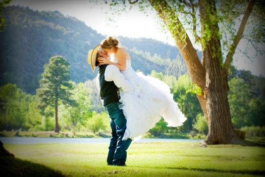 A Camo Country Wedding at LePlatt's Pond, Bayfield