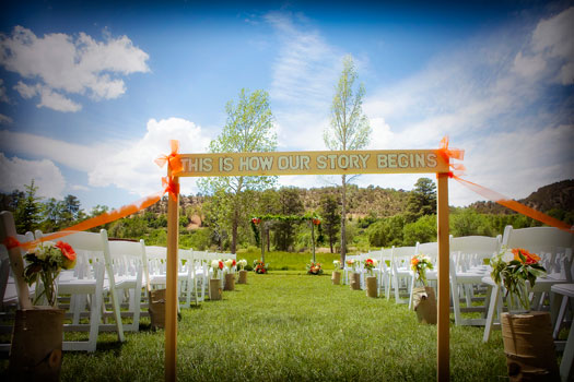A Camo Country Wedding at LePlatt's Pond, Bayfield