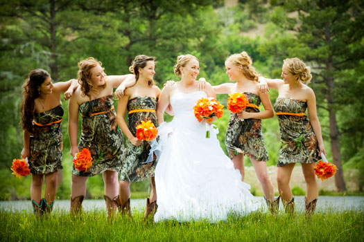 Bayfield A Camo Country Wedding At Leplatt S Pond