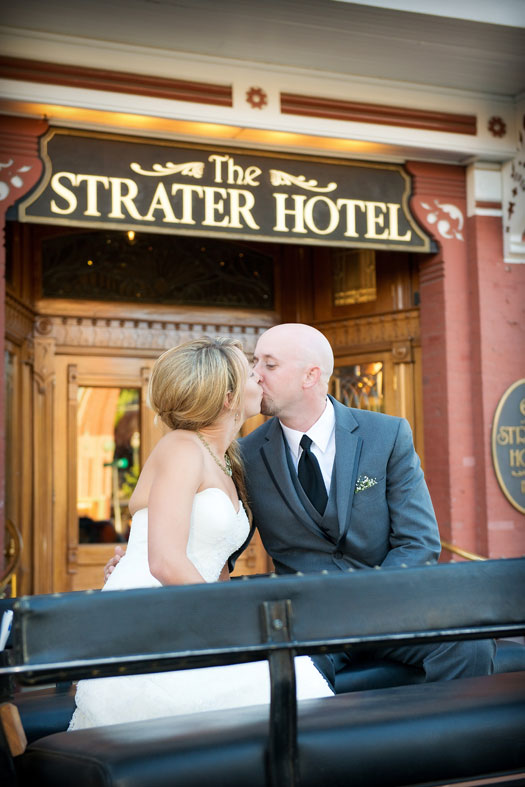Strater Hotel Durango Wedding