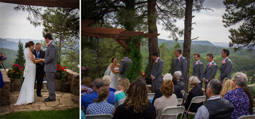 Simple Country Wedding at Canyon Crest Lodge - Pagosa Springs Colorado