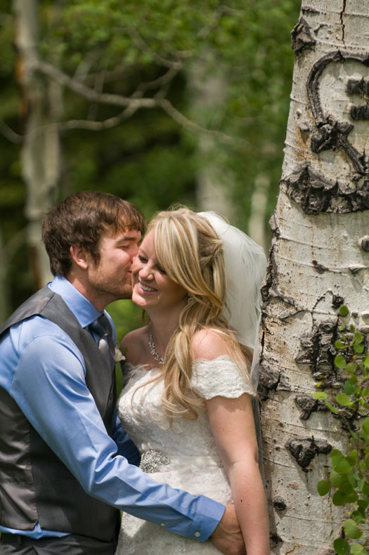 A Natural & Simple Wedding at Durango Mountain Resort