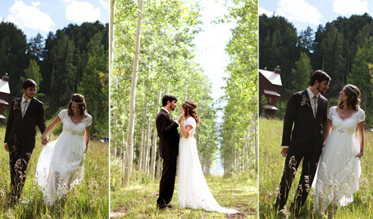 A destination wedding at Silverpick Lodge, Durango Colorado