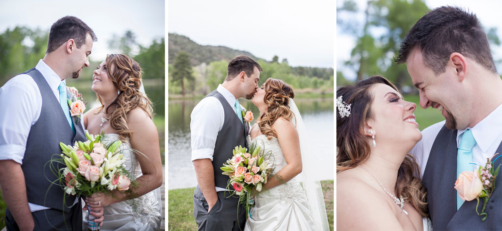 A Perfect Wedding Day at LePlatt's Pond, Durango Colorado