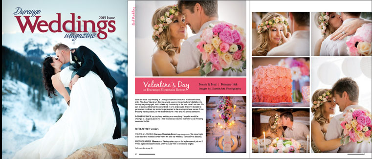 From the Magazine - Valentine's Day Wedding