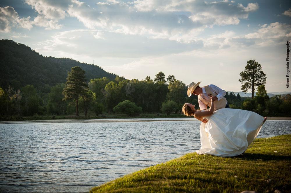 LePlatt's Pond Wedding Venue, Durango Colorado