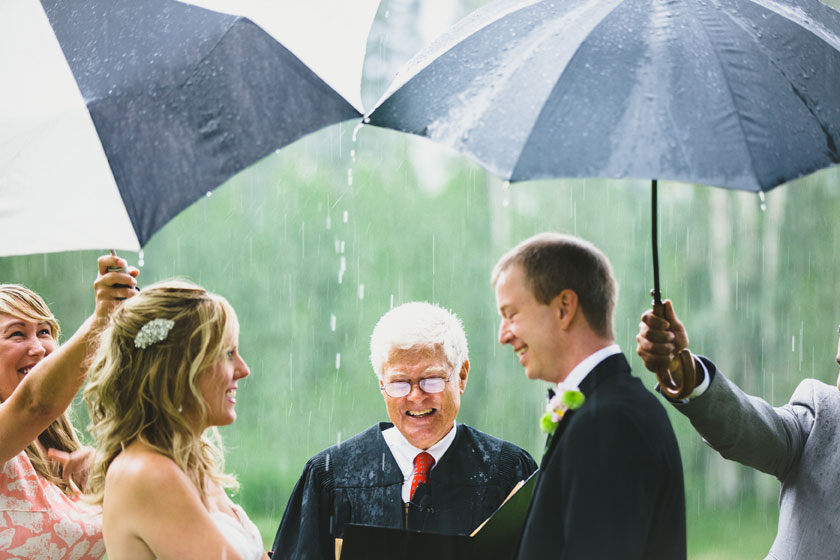 A Ceremony in the Rain