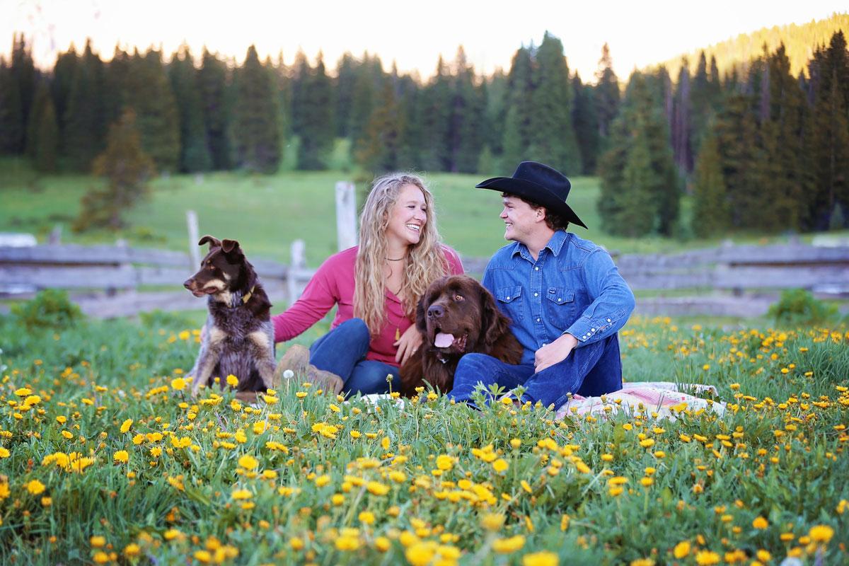 Ranch Engagement Shoot, Montrose, Colorado