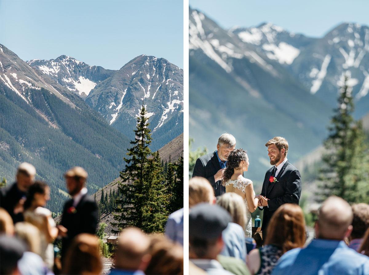 A Destination wedding at the Eureka Lodge in Silverton, Colorado