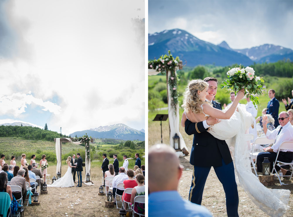 A Casual Mountain Destination Wedding in Colorado