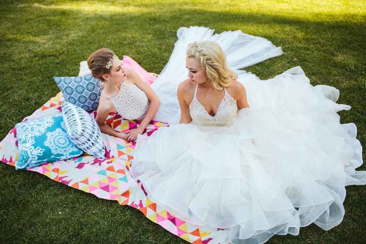 Modern Lesbian Wedding Styled Shoot