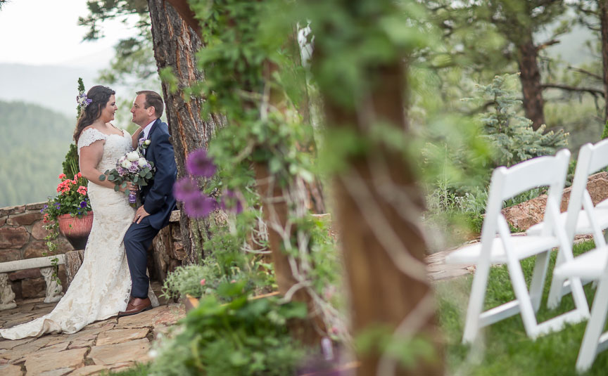 A wedding with Rainbows, Sunsets & Unbelievable Views at Canyon Crest Lodge, Pagosa Springs, Colorado