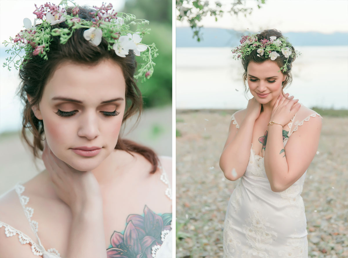 A Soft & Dreamy Spring Inspired Shoot