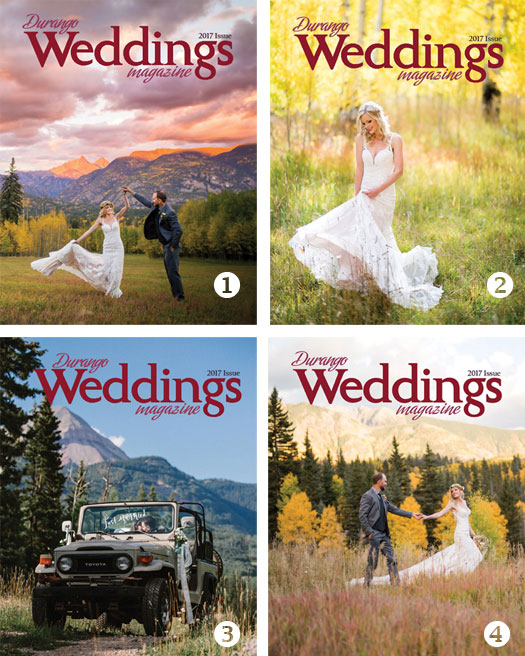 2017 Durango Weddings Magazine Cover