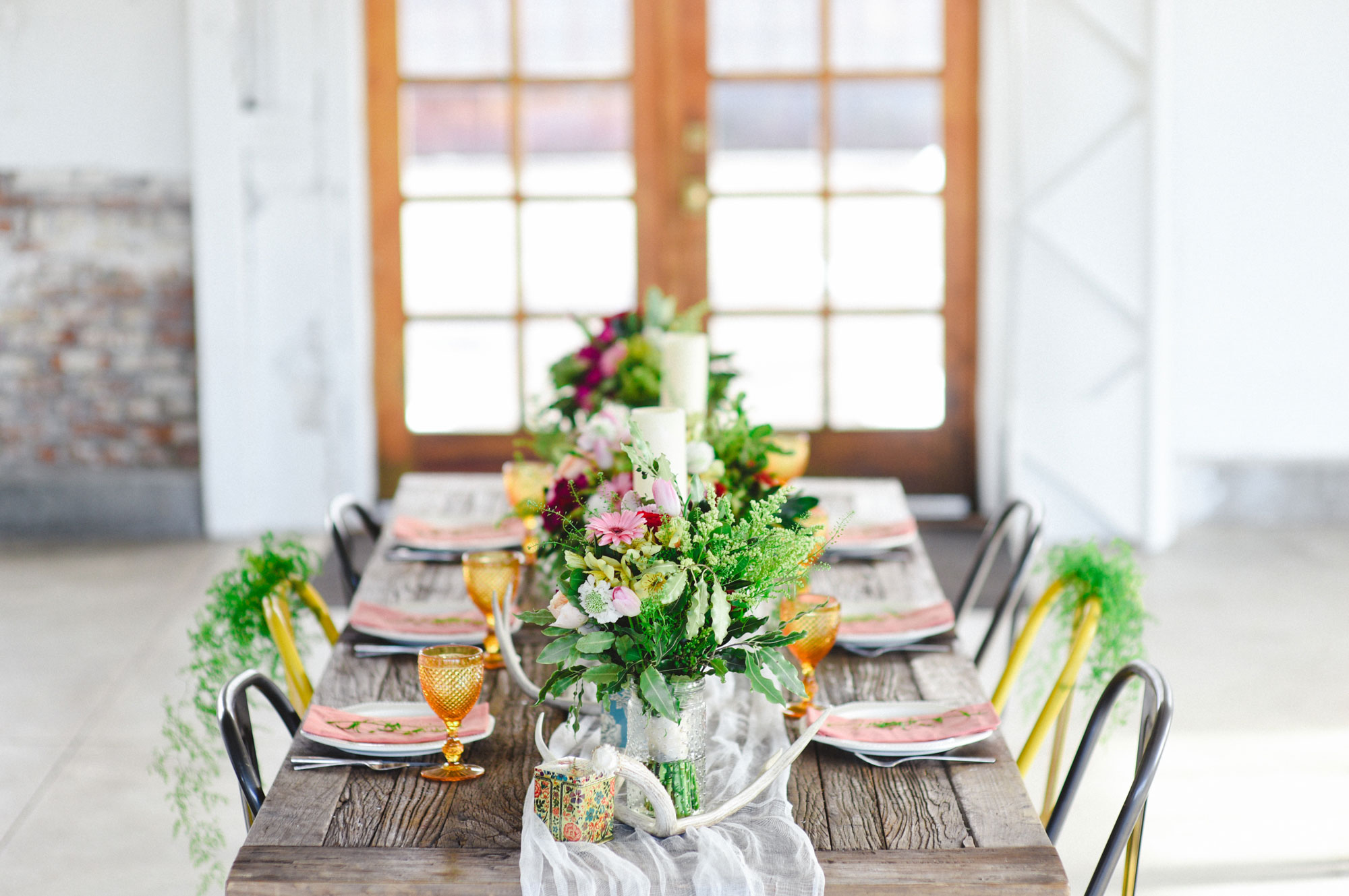 A Boho Meets Modern Styled Shoot