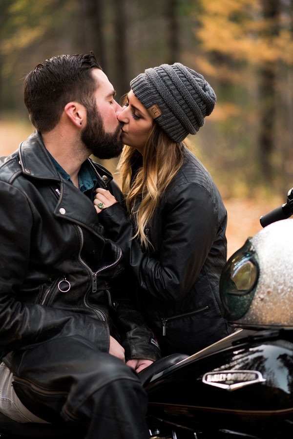 Fall Motorcycle Engagement Session0102