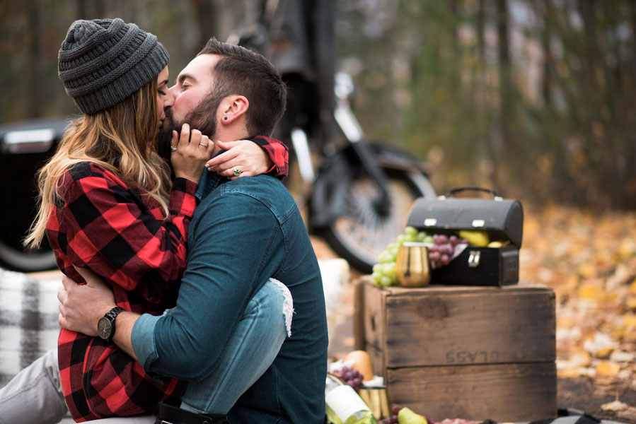 Fall Motorcycle Engagement Session0110