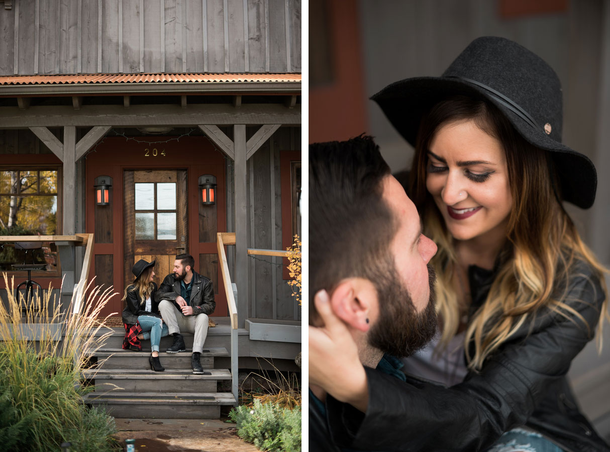 Fall Motorcycle Engagement Session0112