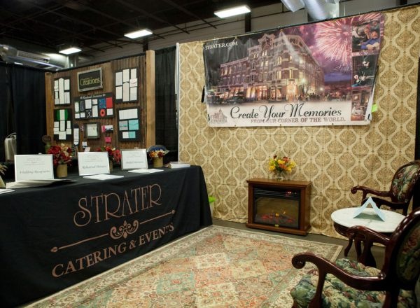 Strater Hotel at the 2017 Durango Wedding Expo, Durango Colorado