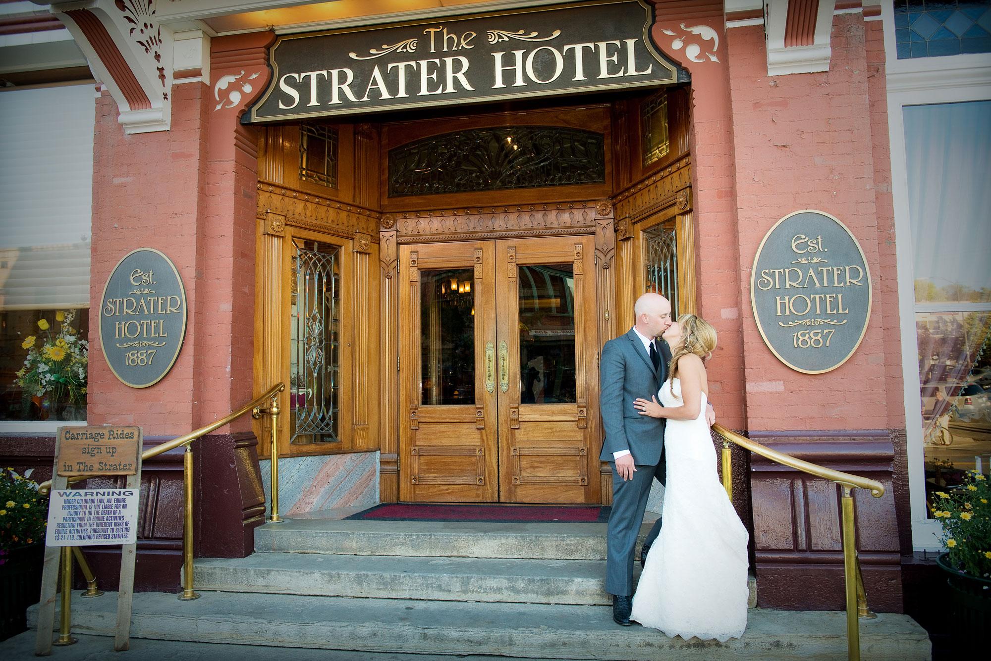 A Destination Wedding at the Strater Hotel, Durango Colorado