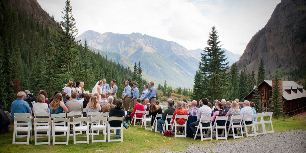 Weddings at Eureka Lodge, Silverton Colorado