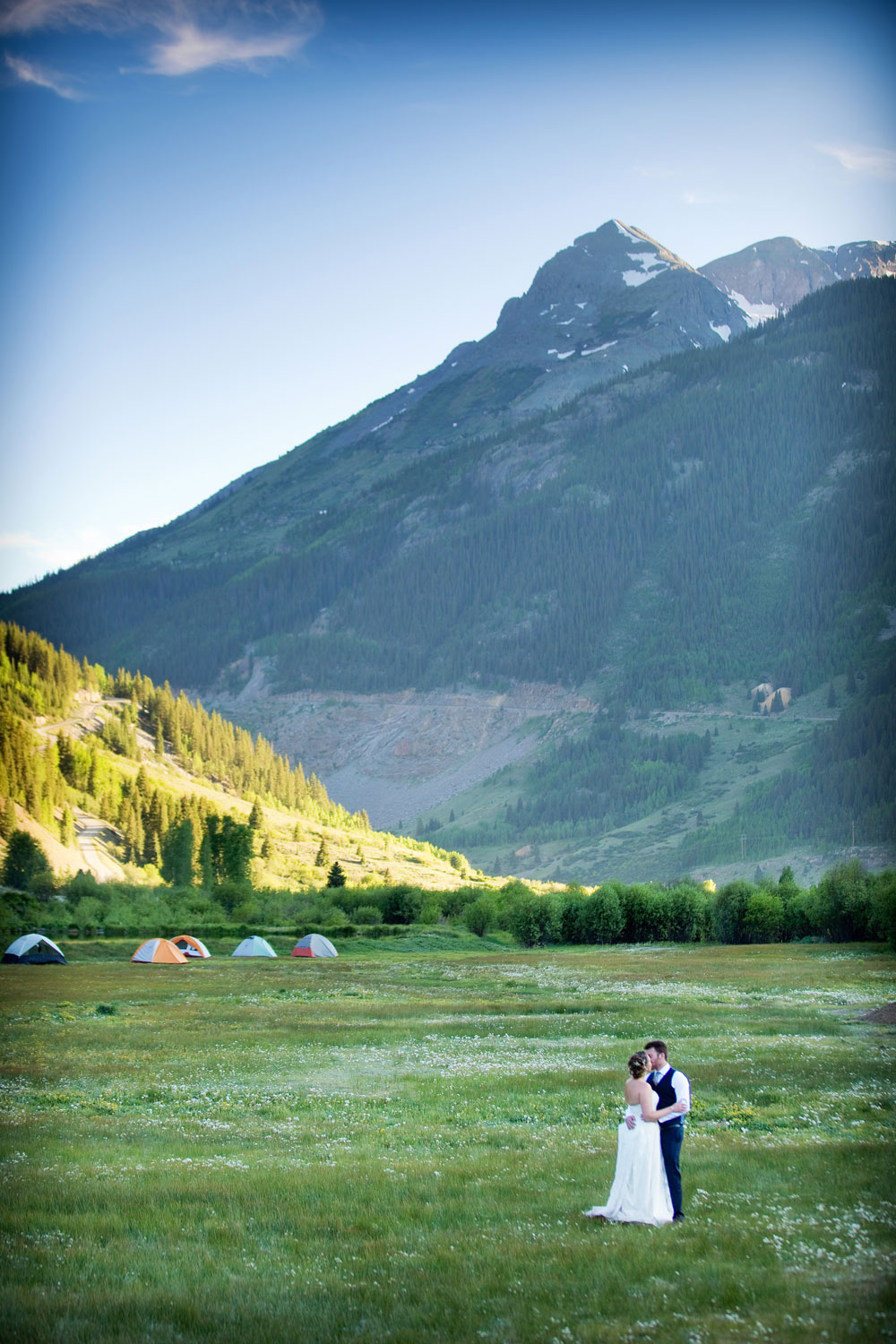 Wedding in Silverton, Colorado