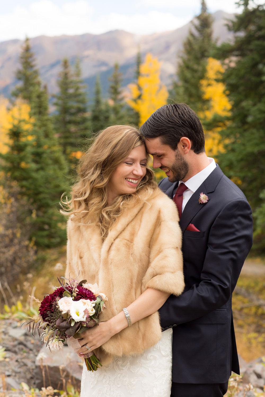 Wedding in Silverton, Colorado