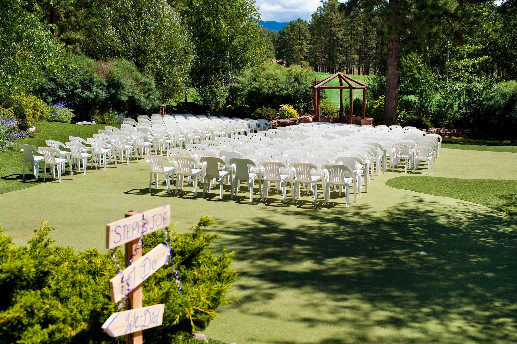 Echo Basin Wedding in Mancos, Colorado