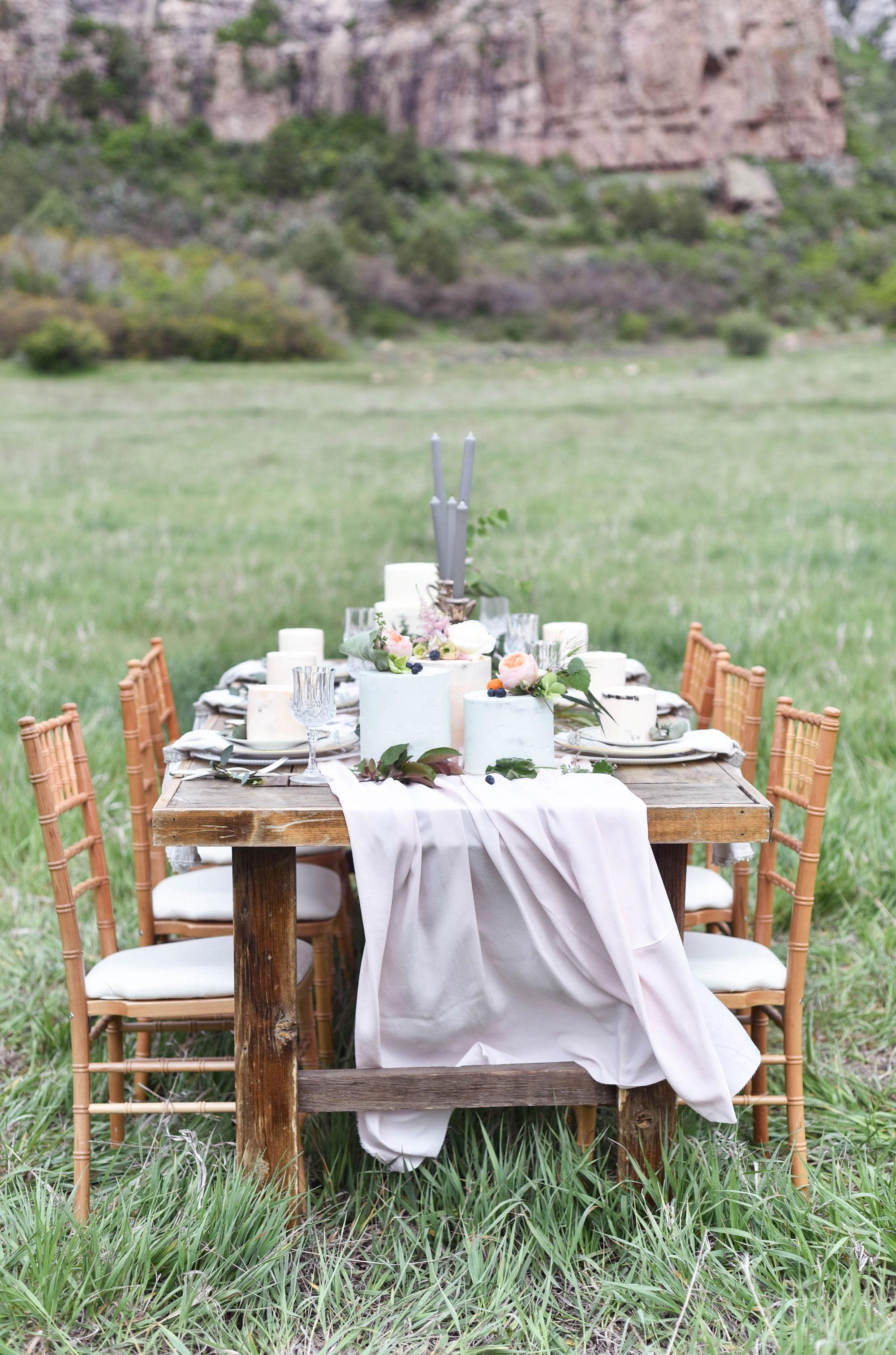 A Romantic Meadow Wedding Shoot in Durango