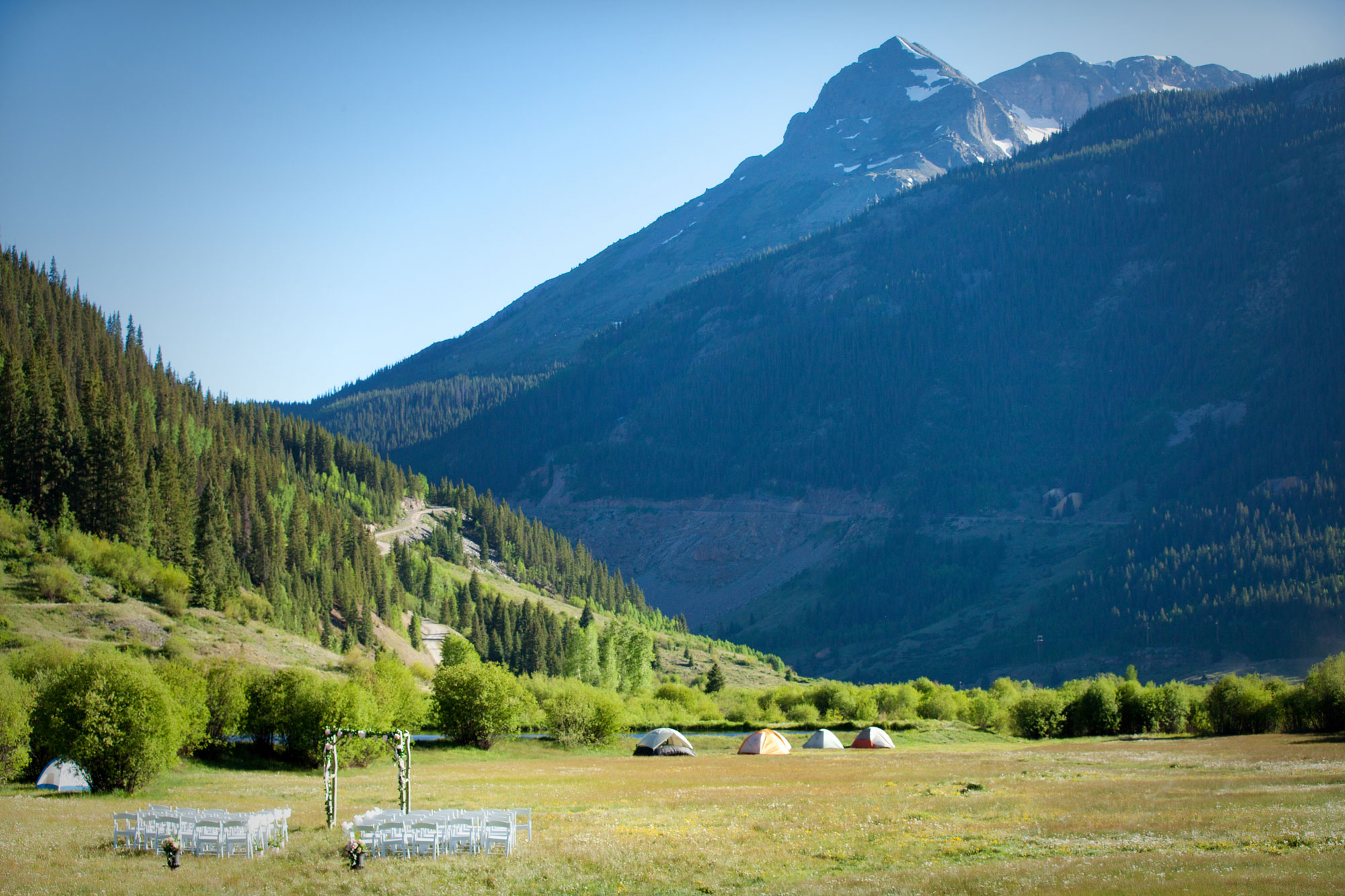 A Casual Summer Destination Wedding in Silverton, Colorado
