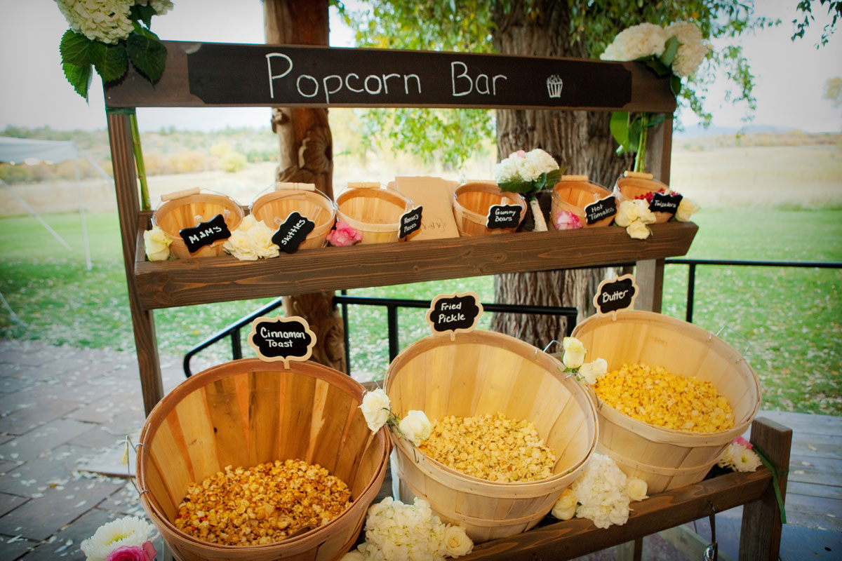 A Fall Wedding at Ridgewood Event Center, Durango, Colorado