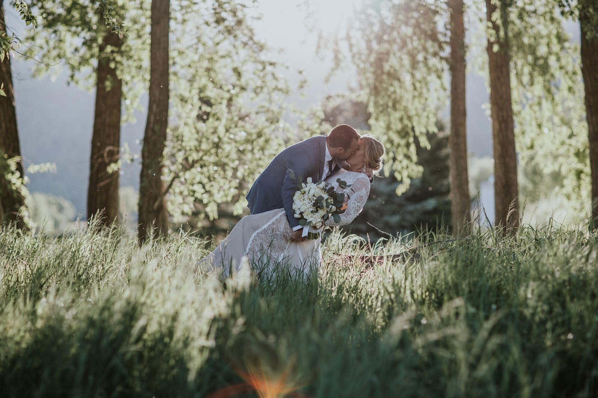 Simple Elegance Wedding at Dalton Ranch, Durango CO