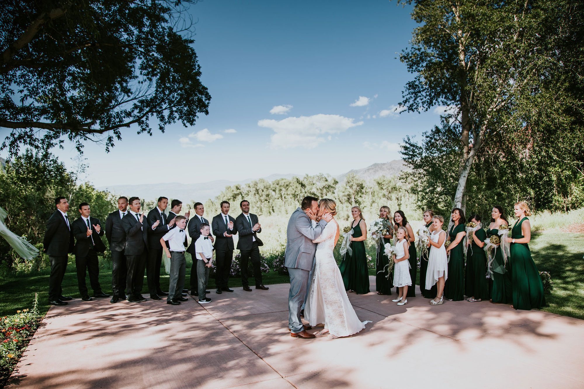 A Simply Elegant Irish Wedding at Dalton Ranch, Durango Colorado