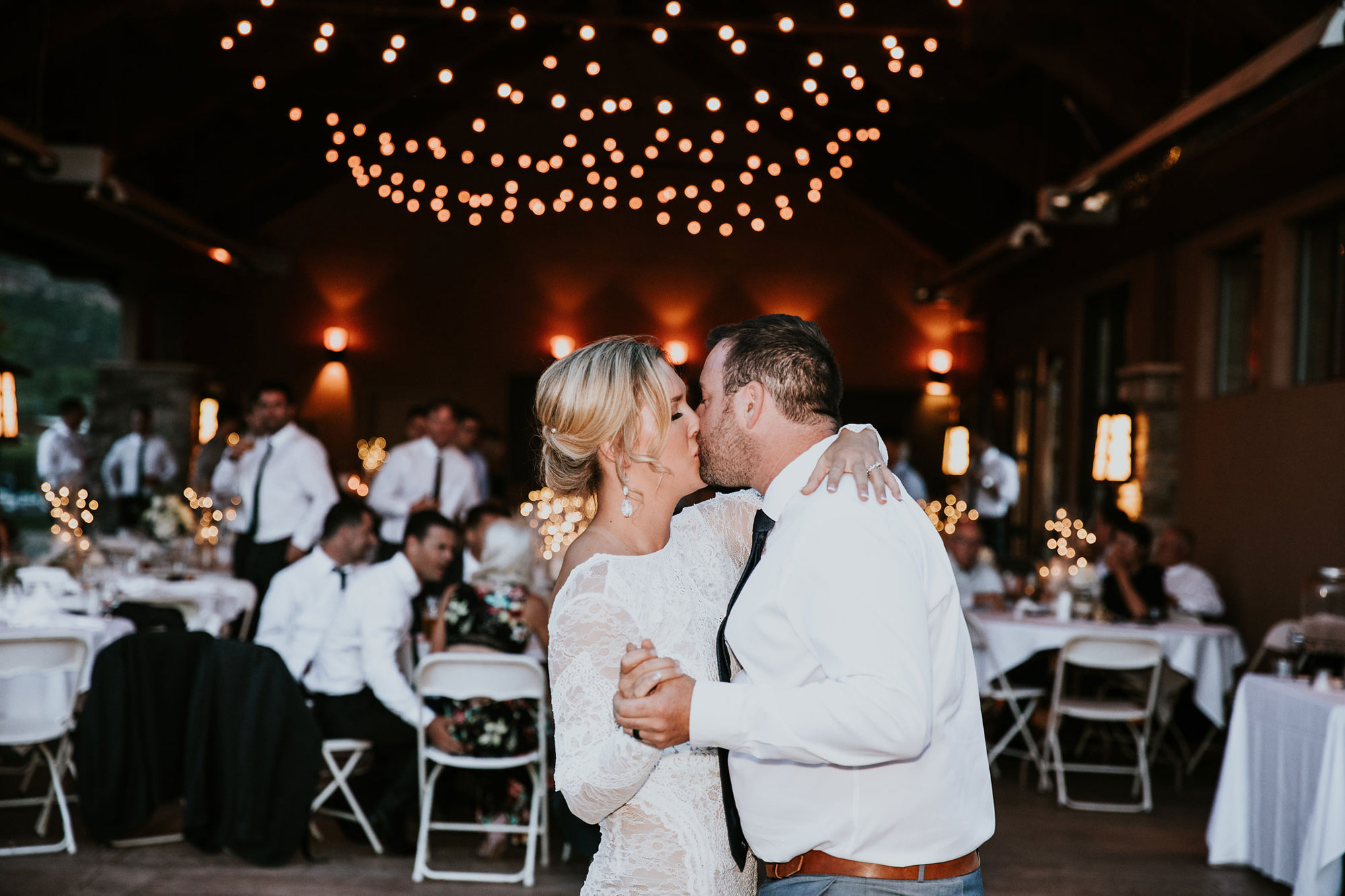 First Dance | A Simply Elegant Irish Wedding at Dalton Ranch, Durango Colorado