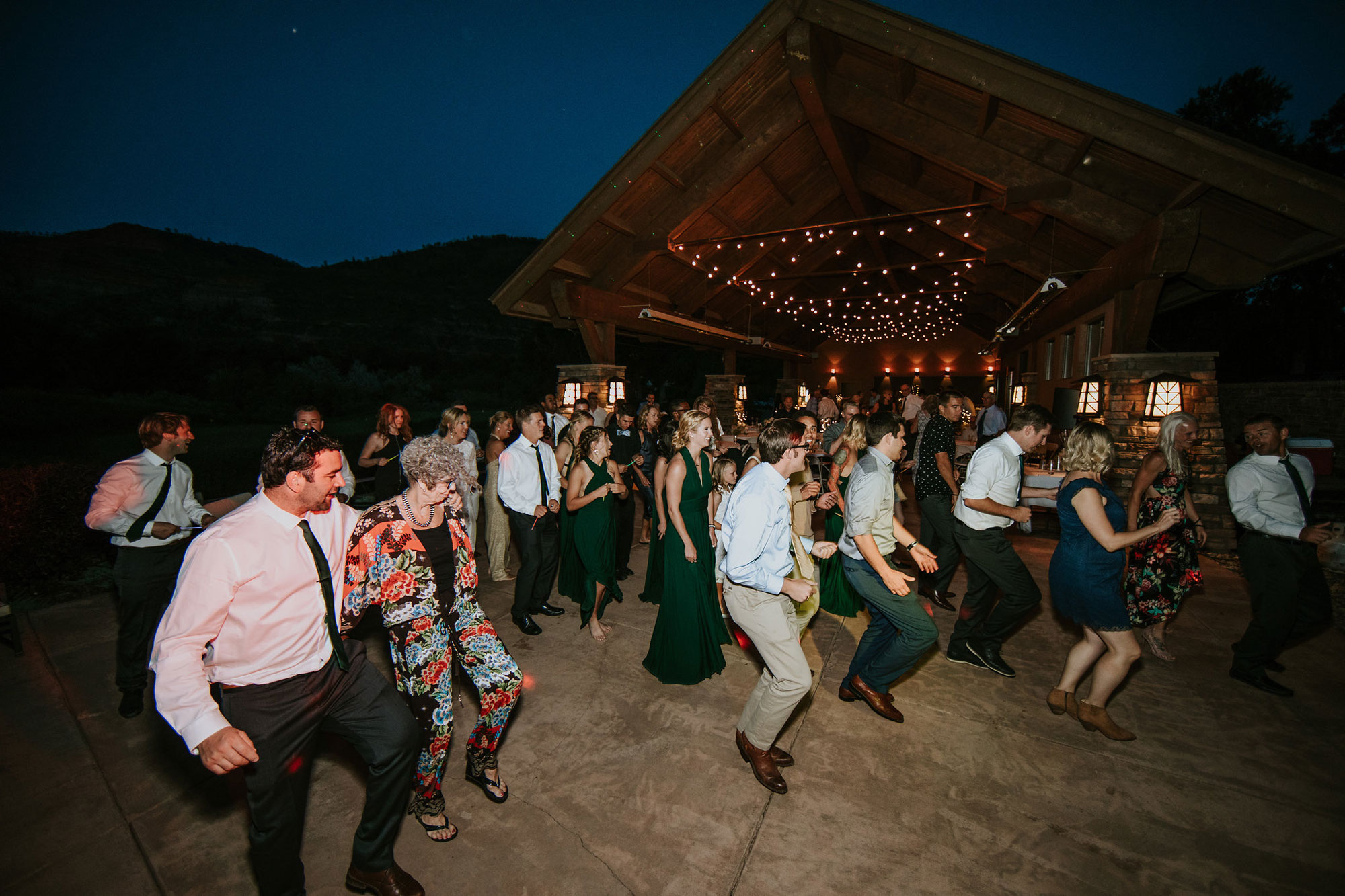 Reception | A Simply Elegant Irish Wedding at Dalton Ranch, Durango Colorado