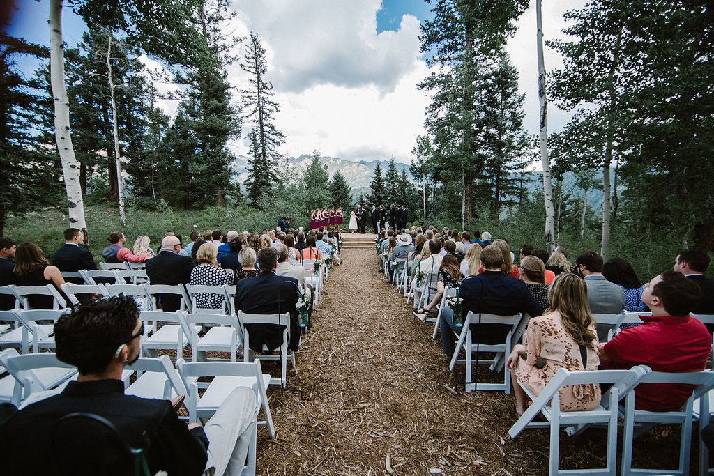 Happiness on Durango Mountain, Durango Colorado wedding
