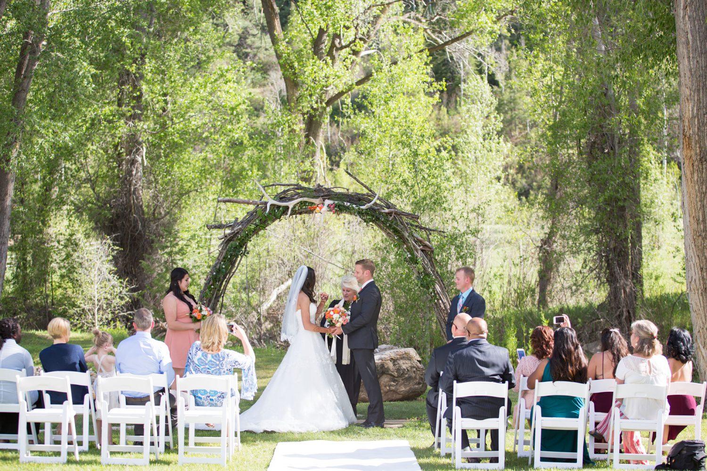An Intimate Wedding at Antlers on the Creek B&B, Durango Colorado wedding