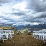 Mountaintop ceremony on Purgatory Resort, Durango. Colorado