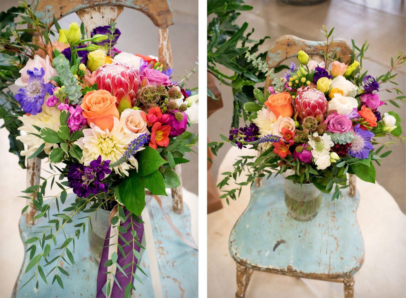 Floral Bouquet & Design by April's Garden at the annual Durango Wedding Expo