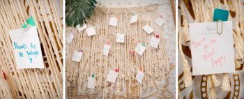 Macrame wall designed by April's Garden | Durango Wedding Expo, Durango CO