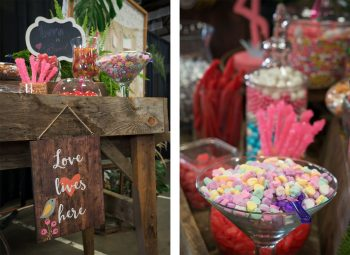 Candy cart designed by April's Garden