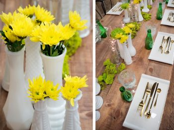 Tablescape by The Yellow Carrot