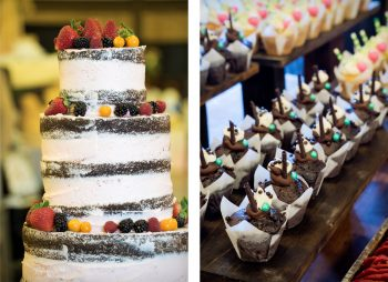 Cake & cupcakes from The Yellow Carrot