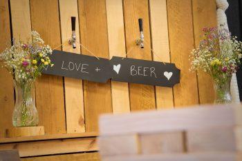 Beer bar from Wildflower Rental Co