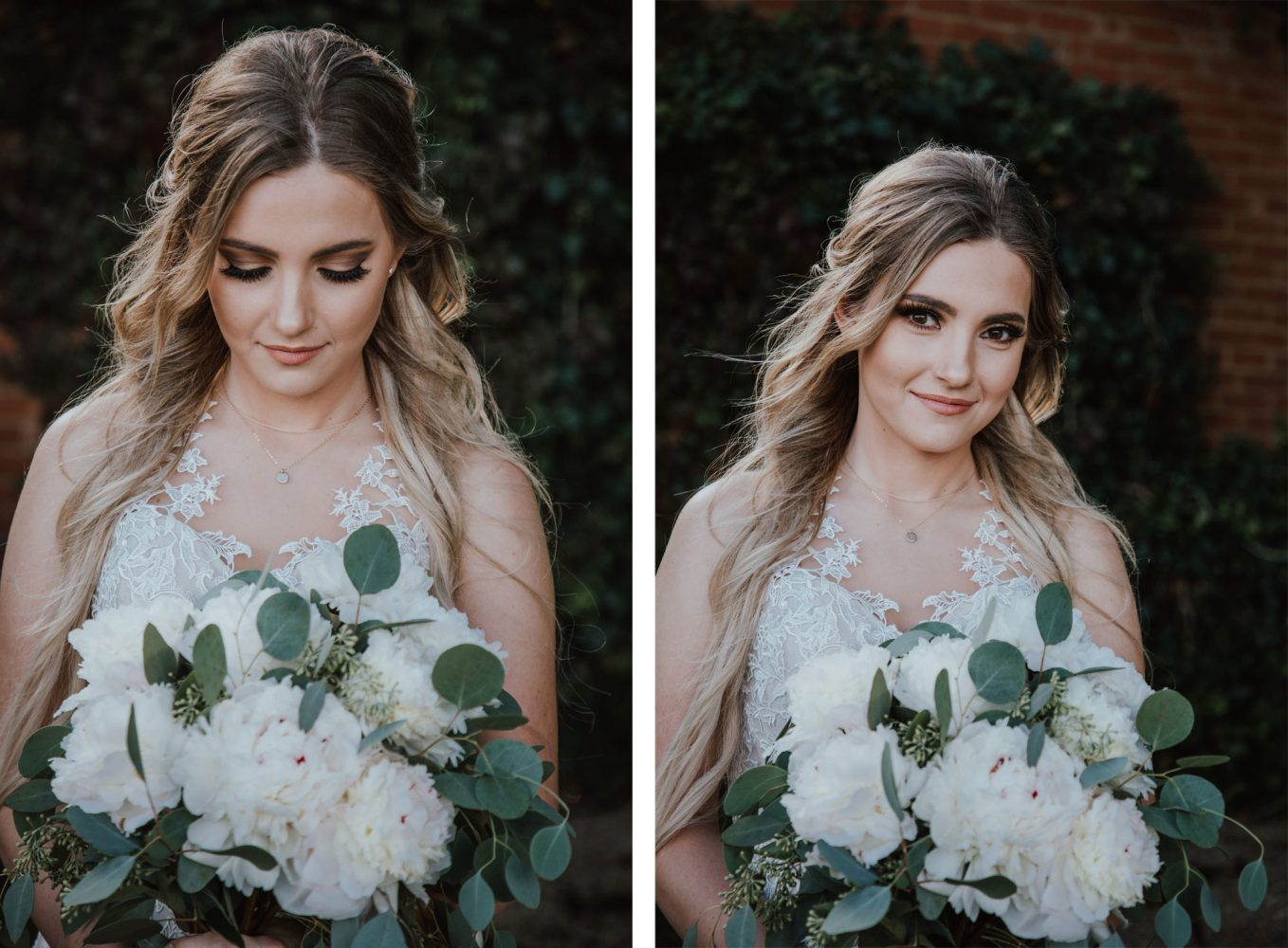 Bride from a Rustic Glam Wedding at Triple J Ranch in Kirtland, New Mexico