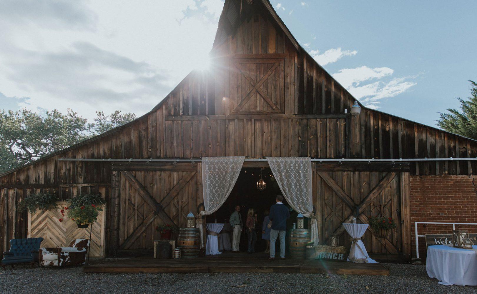 Triple J Ranch Barn Venue in Kirtland, New Mexico