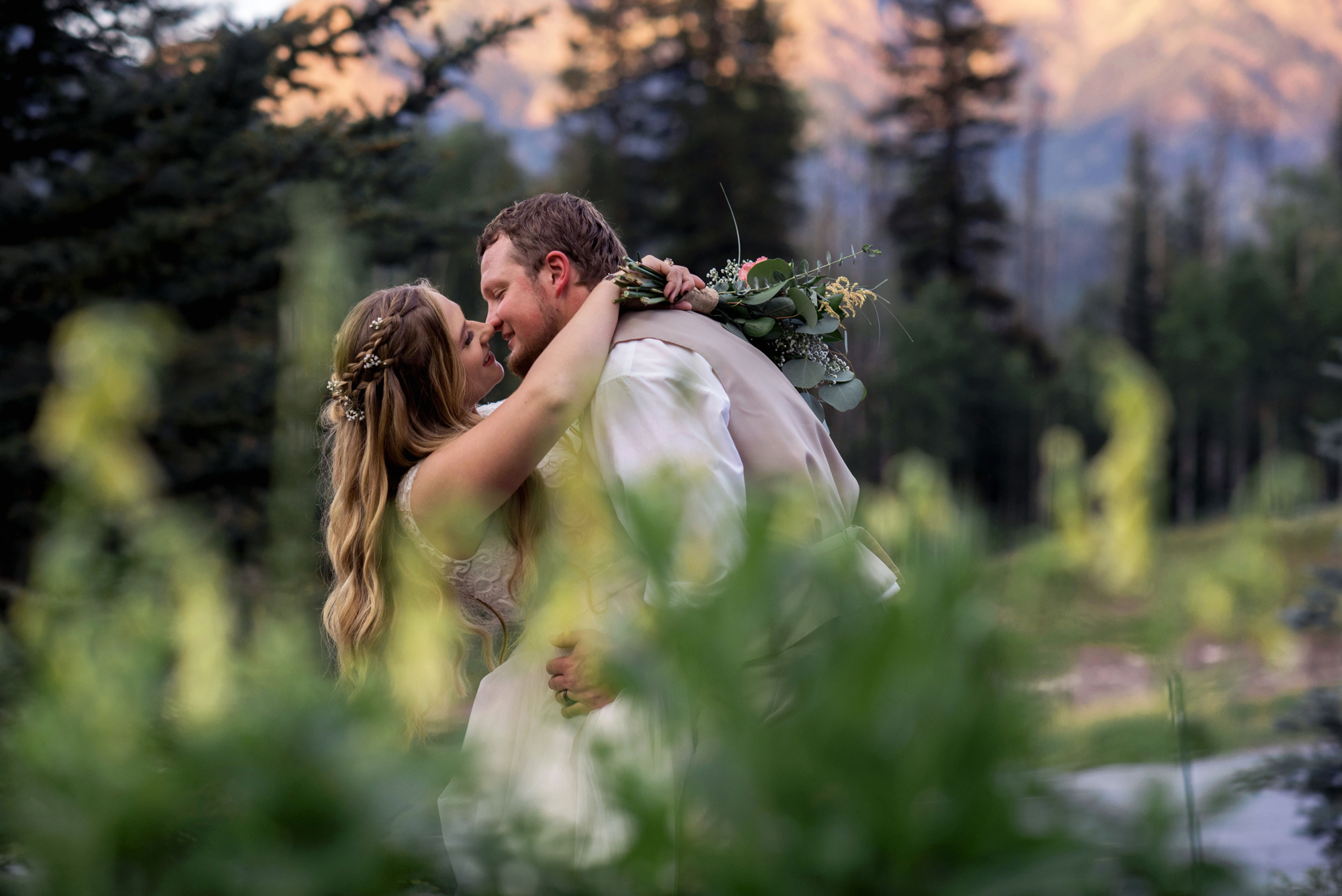 Cascade Village Wedding by Tara Vigil, Durango, CO