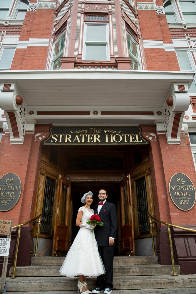 Wedding at the Historic Strater Hotel, Durango Colorado