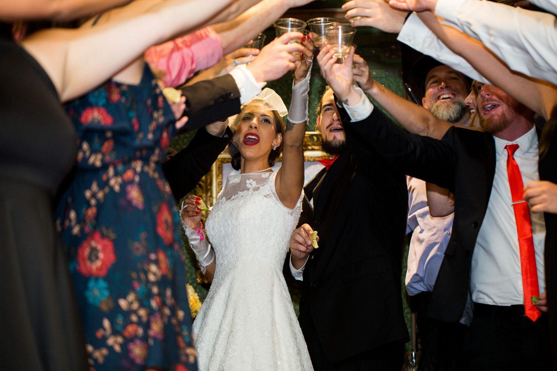 Wedding reception at the Historic Strater Hotel, Durango Colorado